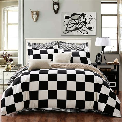 black and white checkered comforter total fab black and white checkered comforters bedding sets
