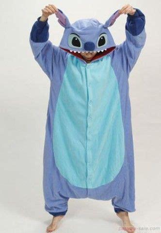 stitches pijama onesies blue stitch kigurumi animal onesies my