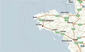 map quimper