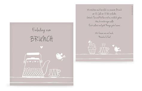 Muster Einladung Brunch Partyeinladungen Selbst Gestalten Ob Oder