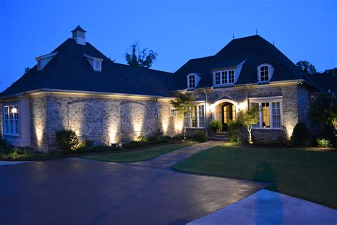 exterior landscape lighting in macon and warner robins