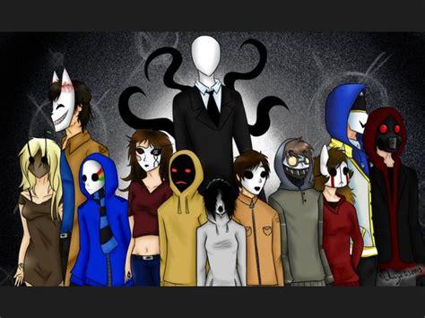 imagenes creepypastas jack lista personajes de creepypastas