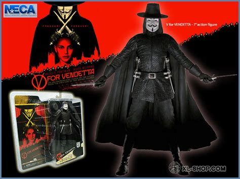 v figures neca v for vendetta 7 figure