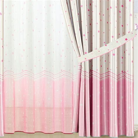 pink bedroom curtains stars patterns girls pink bedroom lovely pink polyester thick insulated bedroom curtains