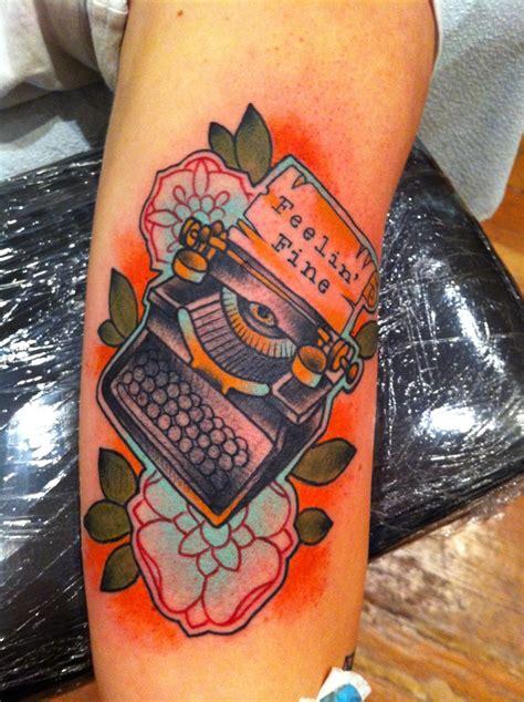 typewriter tattoo 47 best kawaii ink images on ink