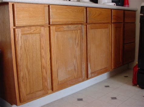 Staining Unfinished Cabinets by How To Stain Wood Cabinets In Kitchen