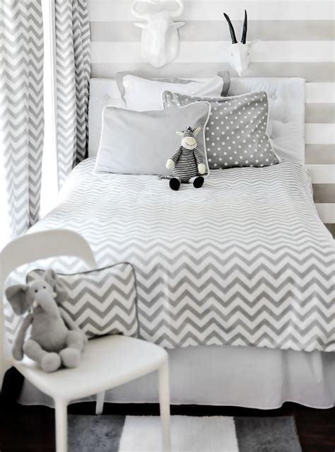 chevron print bedding chevron duvet chevron duvet cover gray from