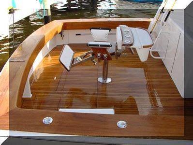 diy refinishing  teak deck blair boat carpentry