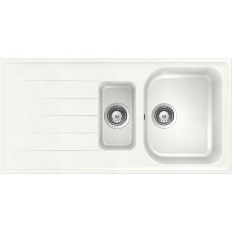 schock kitchen sink lithos d150 a 1 5 bowl cristalite