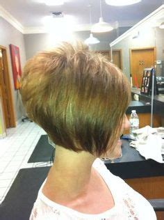 how to get an edgy stacked bob short fine hair cut places to visit pinterest fine