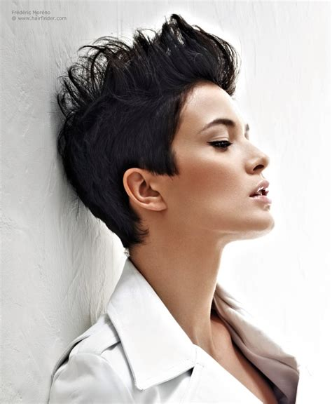 hairstyles with hair gel short hair styled up with gel or modeling paste