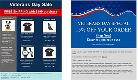 Announcing Free Veterans Day Email Templates Veterans Day Email Template