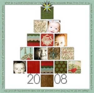 christmas scrapbook page christmas pinterest