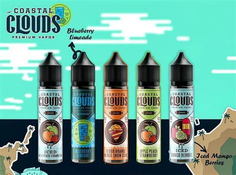 coastal clouds ml  liquid  leading usa vapor