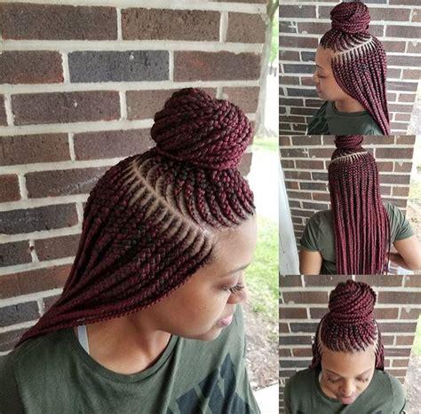 Nice Hairstyles Using Braids | nice braids thebraid slayher black hair information