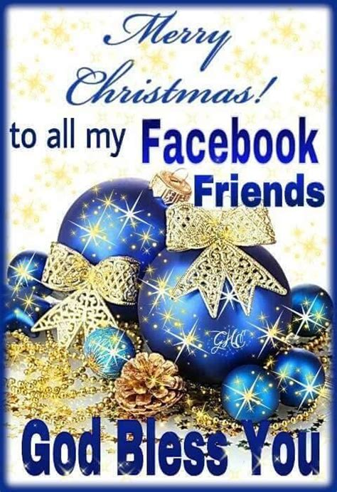 god bless  facebook friends merry christmas pictures   images  facebook