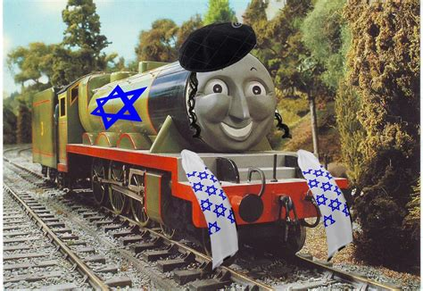Thomas The Tank Engine Meme - henry is a jew thomas the tank engine know your meme