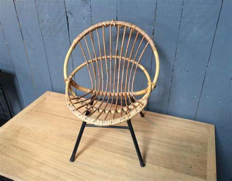 chaise rotin enfant chaise enfant en rotin