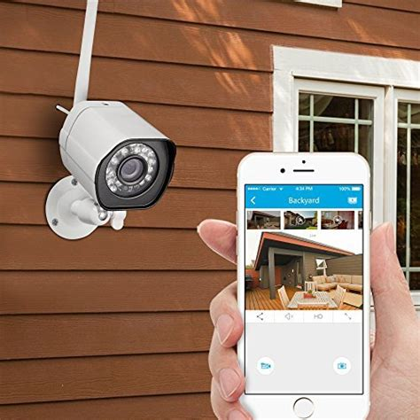 zmodo smart wireless security system 4 hd indoor