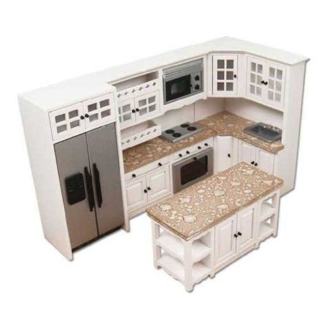 dollhouse furniture kitchen kitchen miniature doll house