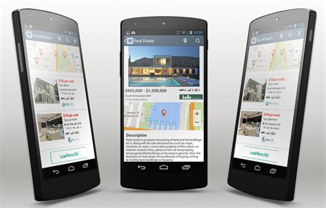real android real estate android app template