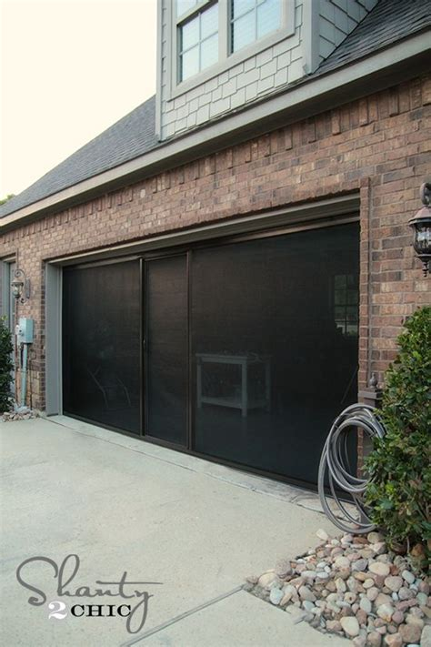Screen Doors For Garage 25 Best Ideas About Garage Door Screens On Retractable Door Affordable Garage