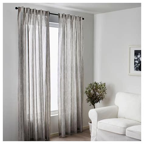 grey and white curtains ikea dagrun curtains 1 pair white grey 145x250 cm ikea