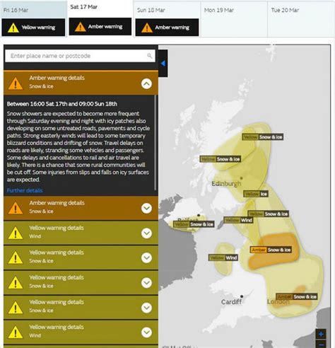 will it snow tomorrow met office weather warning for met office snow warning weather alert as 10c beast from