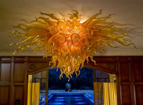 Modern Murano Chandelier Robert Kaindl Custom Chandeliers Art Glass Artist