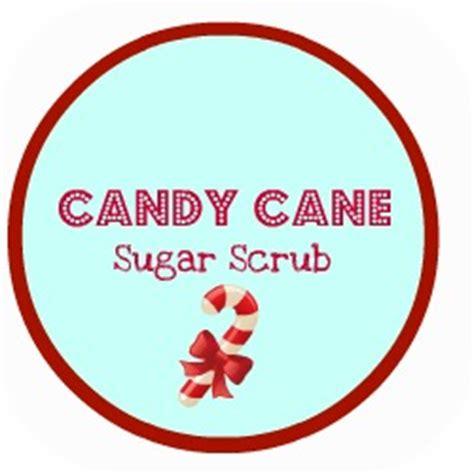 printable label for peppermint sugar scrub handy pants candy cane sugar scrub