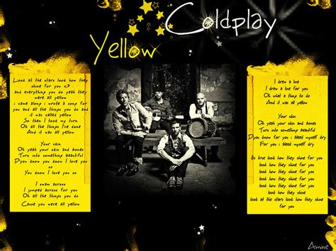 yellow testo 20 maggio 2013 coldplay