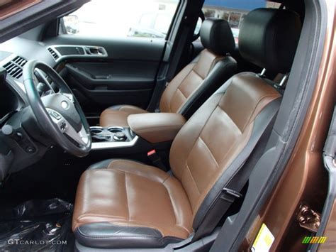 pecan charcoal interior 2011 ford explorer limited 4wd