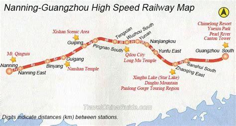 nanning guangzhou high speed train  booking fare