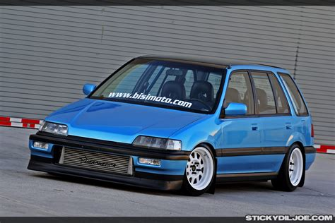 bisimoto wagon sick turbo civic wagon