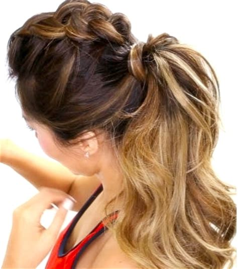 casual hairstyles for college the girly girl