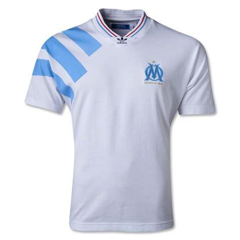 Kaos Nike Sain German 1970 olympique marseille originals retro shirt soccer jerseys