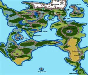 Ff2 World Map by The World In Ffii Chrysalis