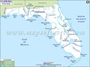 st river florida map rivers in florida florida rivers map
