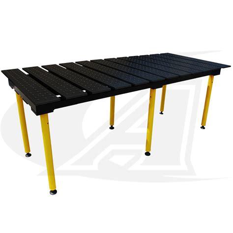 buildpro 8 2 4m welding table nitride finish sht