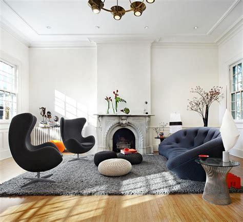 wohnzimmereinrichtung klassisch kaminzimmer einrichten 50 wohnideen in diversen stilen