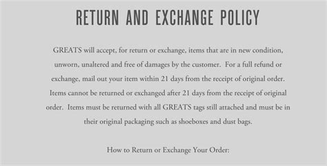 returns policy template sle return policy for ecommerce stores termsfeed
