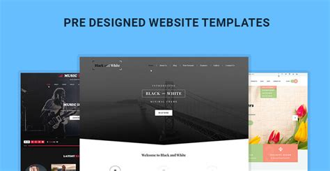 Pre Designed Website Templates Picked From Wordpress Themes Skt Themes Best Community Website Templates