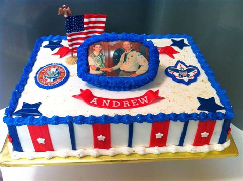 Eagle Scout Cake Decorations by You To See Eagle Scout Promotion Cake By Oatmeal48