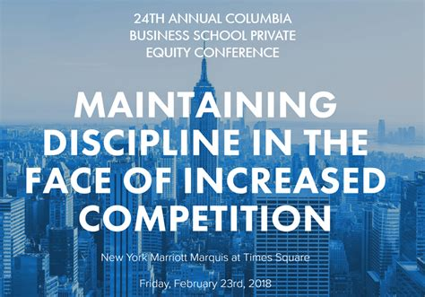 Capital Mba Academic Calendar by 24th Annual Columbia Business School Equity Conference