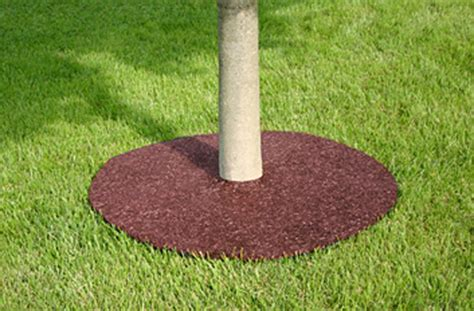 Mulch Mats For Trees by Rubber Tree Rings Easy To Install Maintenance Free Tree