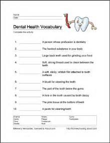 dental hygiene worksheets abitlikethis