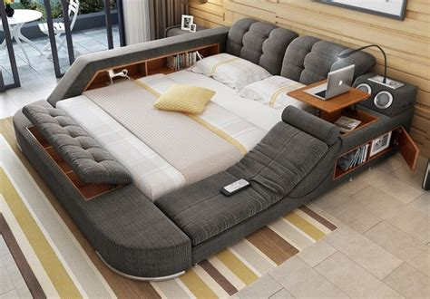 Coolest Beds | this cool bed is the ultimate piece of multifunctional
