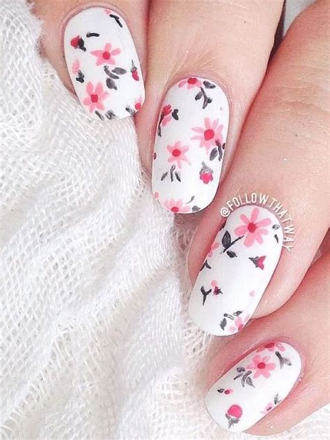 Blumen Nägel by 20 Floral Nail Designs Ideas 2017 Nails