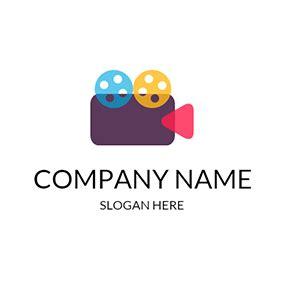 Free Video Logo Designs Designevo Logo Maker Production Logo Templates