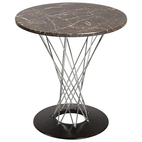 isamu noguchi cyclone table with custom black marble top